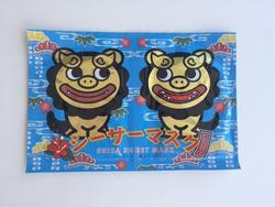 ちゅらシーサー シーサーマスク 2枚入×20P 青 【ちゅらら フェイスマスク 美容マスク スキンケア コスメ】