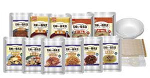 美味しい防災食スペシャルセット(保存水無)BS9  【美味しさそのまま!UAA食品 災害対策 非常食 常温長期保存食 防災対策】