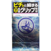 【メール便可能】サガミ スクイーズ 6段グリップ形状コンドーム 10個入 【sagami】