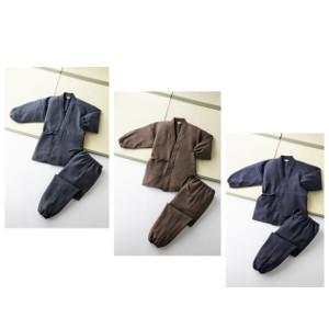 日本製お手入れ簡単作務衣 【ファッション】