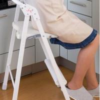 【メーカー直送】ステップアップチェア 【日本製 踏み台 椅子 チェア】