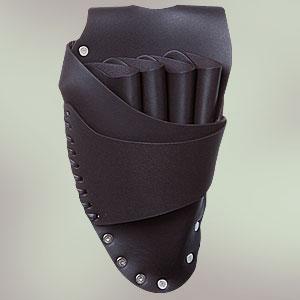 【送料無料】美容師さんのポケット SCISSORS HANDS SH-05ブラック (本皮シザーケース)