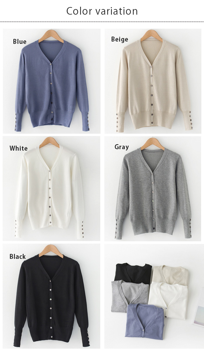 Beauty Show | Rakuten Global Market: Knit Cardigan women's sheer ...