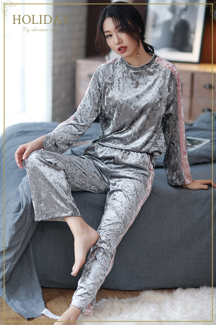 In mature Women pajamas