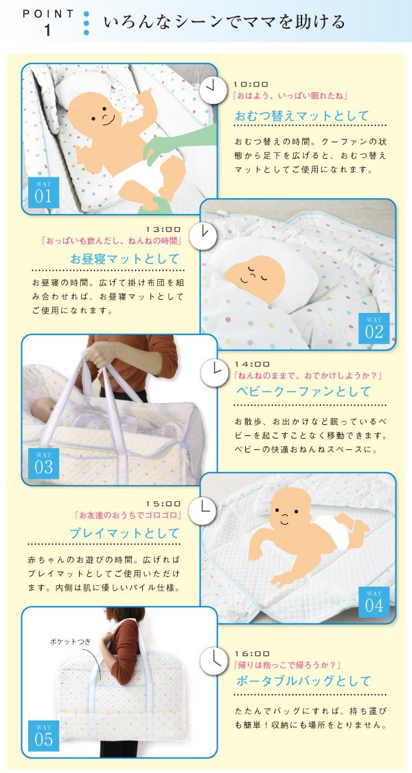 妈妈不想到五使用 5 种方式 coufal (兰特) 婴儿