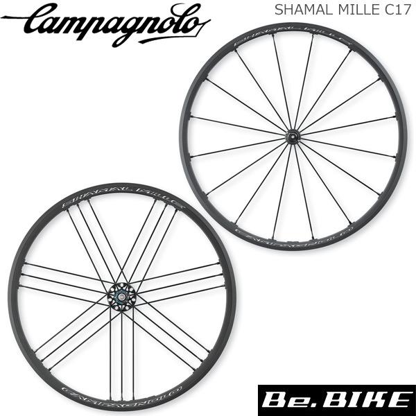 カンパニョーロ(campagnolo) ホイール SHAMAL MILLE C17 WO(フロント+リア)シマノ(136428) 国内正規品