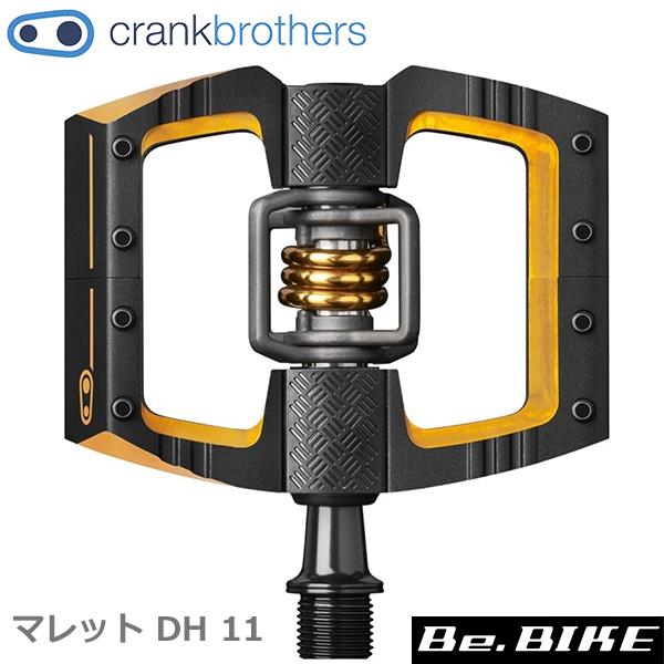Crank Brothers(クランクブラザーズ) マレット DH11 プレミアムエディションペダル [左右ペア] 自転車