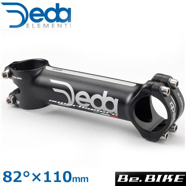 DEDA(デダ) スーパーレジェロ シュレッドレスステム (31.7) ブラック 82°×110mm 自転車 ステム