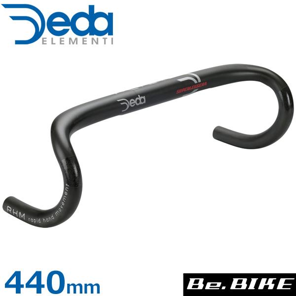 DEDA(デダ) スーパーレジェラ RHM カーボンバー(31.7mm) マットブラック 440(外-外) 自転車 ドロップハンドル