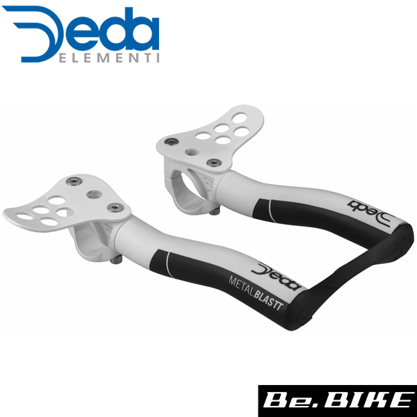 DEDA(デダ) METAL BLAST(メタルブラスト)エアロバー(2017~) ホワイト(31.7) 自転車 ハンドル エアロバー