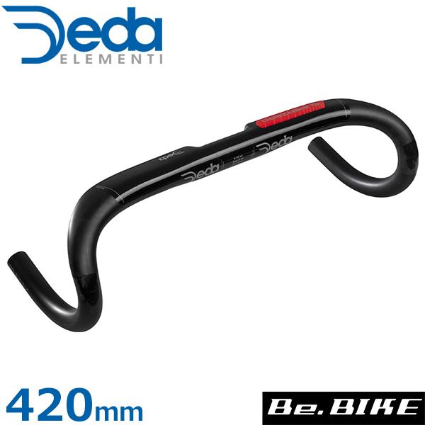 DEDA(デダ) スーパーゼロ アロイ(アルミ)バー(31.7mm)(2019) Team 420mm(外-外) 自転車 ハンドル ドロップハンドル