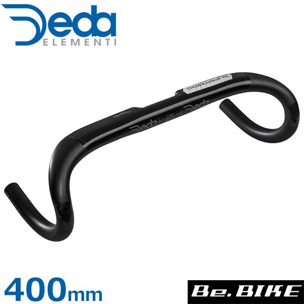 DEDA(デダ) スーパーゼロ アロイ(アルミ)バー(31.7mm)(2019) ホワイト 400mm(外-外) 自転車 ハンドル ドロップハンドル