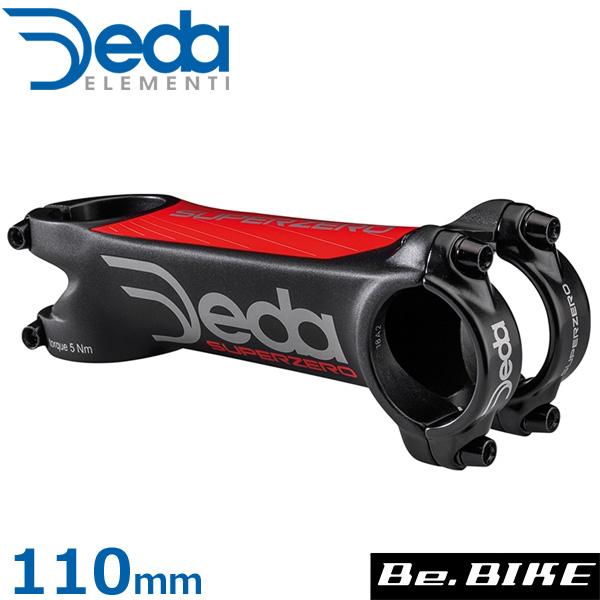 DEDA(デダ) スーパーゼロ シュレッドレスステム (31.7)(2019) Team 82°x110mm 自転車 ステム
