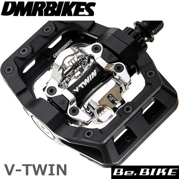 DMR BIKES V-TWIN PEDAL-ブラック 自転車 ペダル(ビンディングペダル)