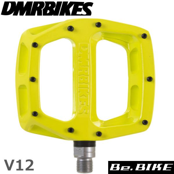 DMR BIKES V12 PEDAL レムライム 9/16 自転車 ペダル(フラットペダル)