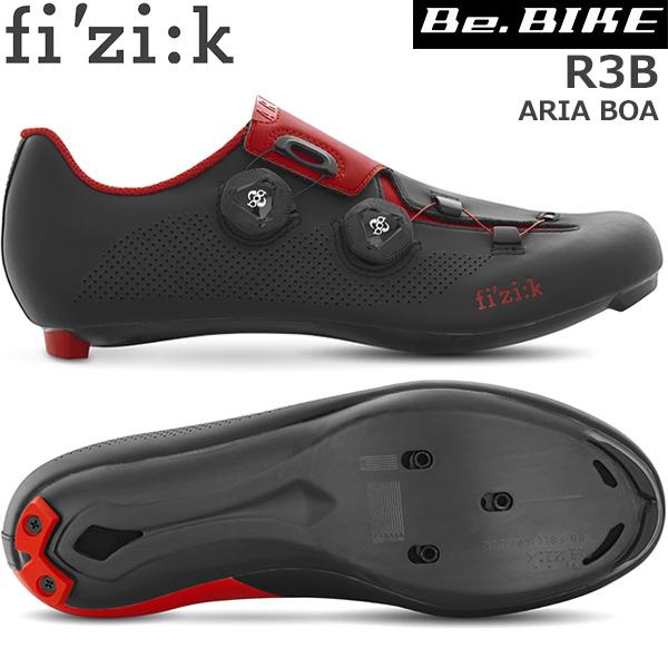 fi'zi:k(フィジーク) R3B ARIA BOA ブラック/レッド 自転車 シューズ ロードバイク ロード用