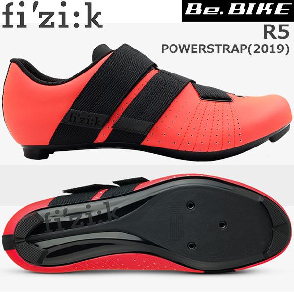 fi'zi:k(フィジーク) R5 POWERSTRAP ピンク/ブラック 自転車 シューズ ロードバイク ロード用