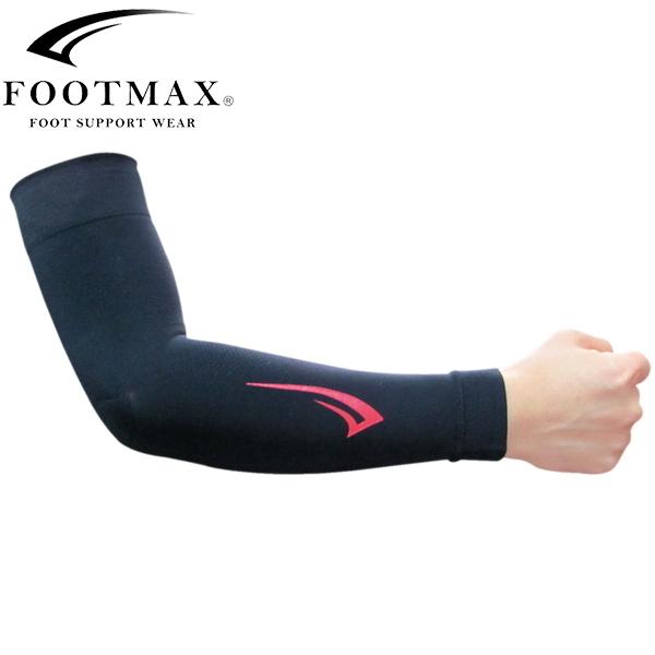 FOOTMAX フットマックス FXA010 ブラック アームカバー 売店 期間限定今なら送料無料 自転車 スポーツ