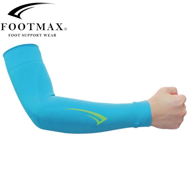 FOOTMAX 出色 フットマックス FXA010 ブルー スポーツ 期間限定の激安セール アームカバー 自転車
