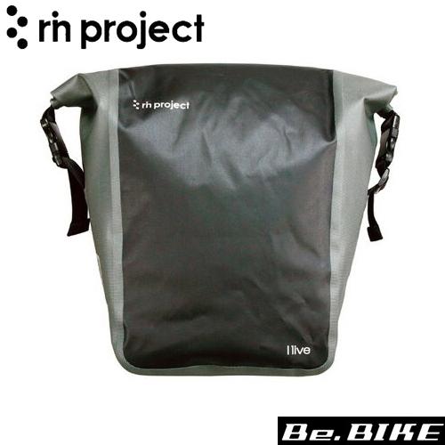 rin project(リンプロジェクト) 1513 防水サイドバッグ ブラック 自転車 車載取付バッグ