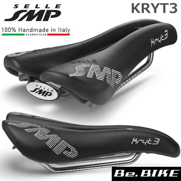 SELLE SMP (セラ エスエムピー) KRYT3 クリテ3 ブラック 自転車 サドル 穴あきサドル