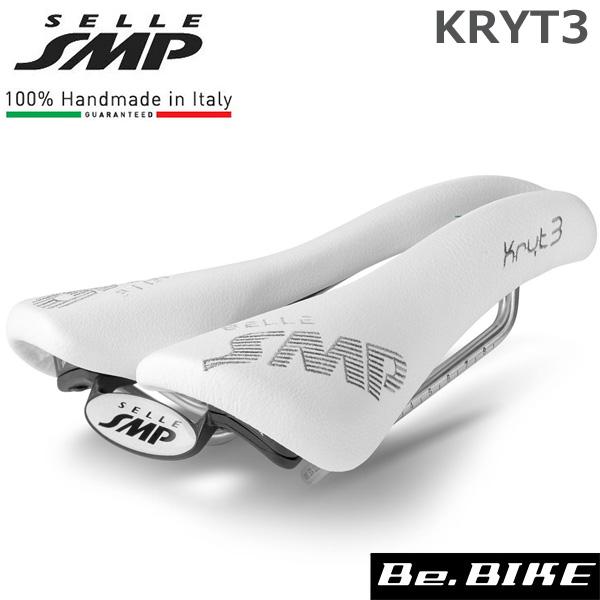 SELLE SMP (セラ エスエムピー) KRYT3 クリテ3 ホワイト 自転車 サドル 穴あきサドル