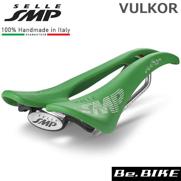 SELLE SMP (セラ エスエムピー) VULKOR ブルコー ライトグリーン 自転車 サドル 穴あきサドル
