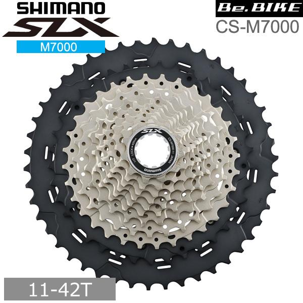 シマノ(shimano) CS-M7000 11S 11-42T ・フロント:ダブル、シングル用 (ICSM7000142) SLX 自転車 MTB M7000シリーズ bebike