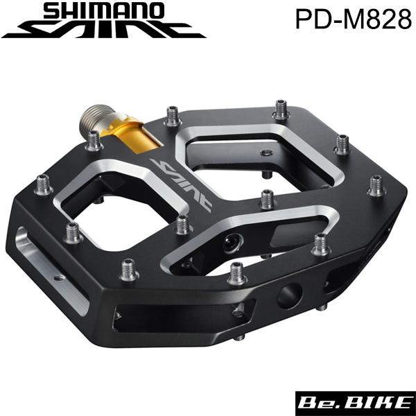 シマノ(SHIMANO) PD-M828 フラットペダル(オフロード) (EPDM828) 自転車 ペダル