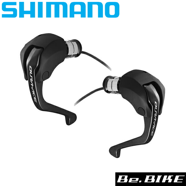 シマノ(shimano) ST-R9160 [左右レバ-セット] TT/トライアスロン用デュアルコントロールレバー / 1ボタン方式 ケーブル長さ105mm ブレーキケーブル付属 / ケーブル先端にE-tubeポート付き (ISTR9160PA) DURA-ACE(デュラエース) Di2