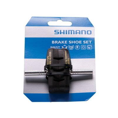 シマノ(SHIMANO) ブレーキシュー S65T (10ペア入) BR-M422-S BR-M422-L BR-M421-S BR-M421-L BR-M420 etc. (Y8GP9810A) 自転車 ブレーキシュー