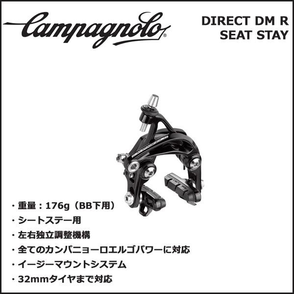 カンパニョーロ(campagnolo) ダイレクトマウントブレーキ リア(リアステイ) BR17-DIDMRSS(0216518) 自転車 ブレーキ 国内正規品