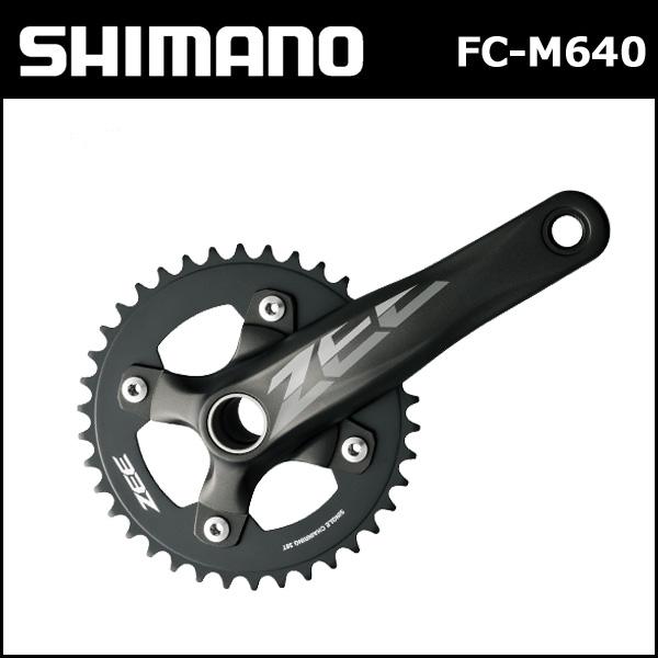 シマノ(shimano) FC-M640 36T 170mm 10S 付属/SM-BB51 (EFCM640CA6X)