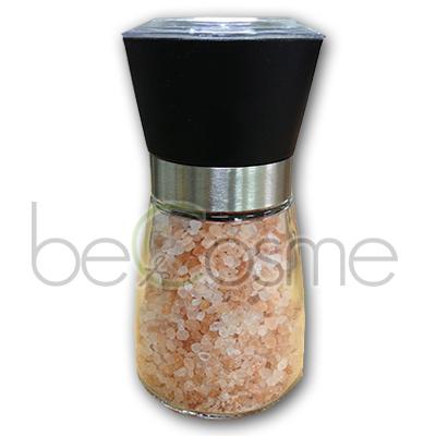 ヒマラヤ岩塩 無添加 100% 天然成分 【10800円以上で送料無料】 ヒマラヤ岩塩 ローズソルト ミル付き 粗挽き (2~3mm)
