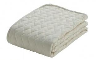 フランスベッド ウォッシャブルコットン ベッドパッド シングル