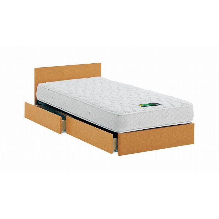 ASLEEP アスリープ ベッドフレーム クイーンサイズ チボー FYAH34DC ナチュラル 引出し付き アイシン精機 ベッド(代引不可)【送料無料】