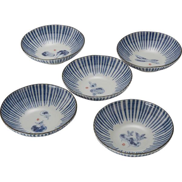 京野菜 小鉢5個揃 和陶器 和陶鉢 中鉢セット T‐2526(代引不可)