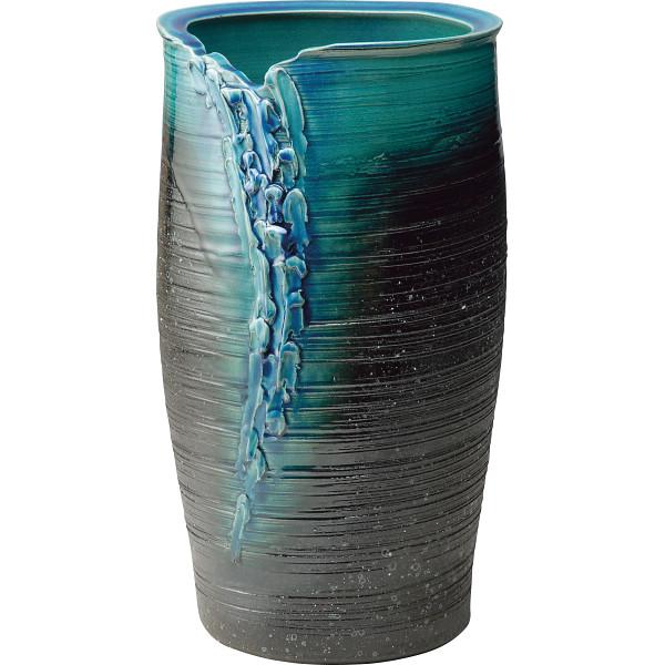 信楽焼 傘立 湖水 室内装飾品 傘立て 和陶傘立て G5‐6707(代引不可)【送料無料】