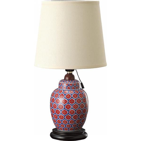 艶紅 艶紅 亀甲 ランプスタンド 亀甲 室内装飾品 照明 デスクスタンド 28854(代引不可)【送料無料】