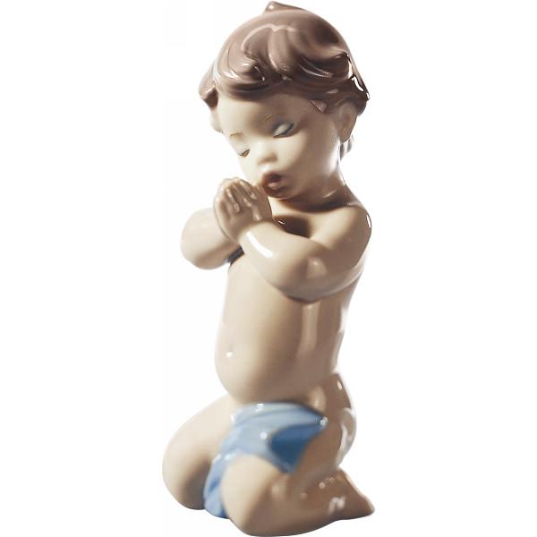 リヤドロ お祈りの時間 室内装飾品 置物 洋陶人形 A06496(代引不可)