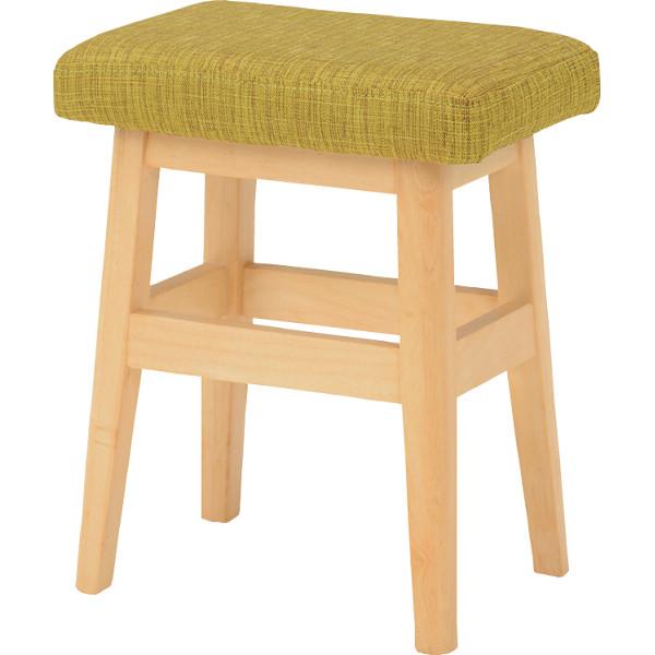 スツール 2脚セット グリーン 木製品 家具 ソファ 座椅子 VH-7943GRS(代引不可)【送料無料】