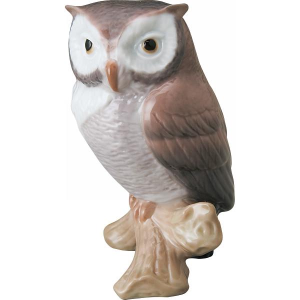 リヤドロ 幸運のフクロウ 室内装飾品 置物 洋陶人形 1008035(代引不可)【送料無料】