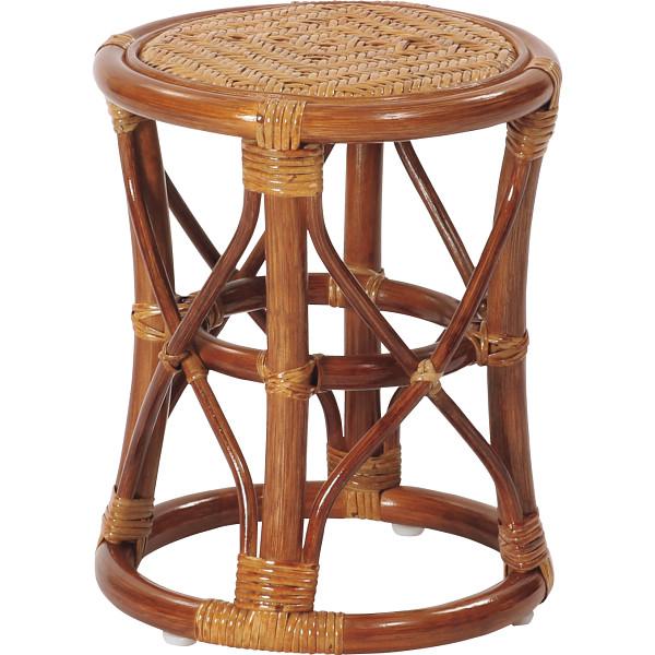 ラタンスツール4脚組 木製品 家具 籐家具 その他ラタン家具 C405HR-4(代引不可)【送料無料】