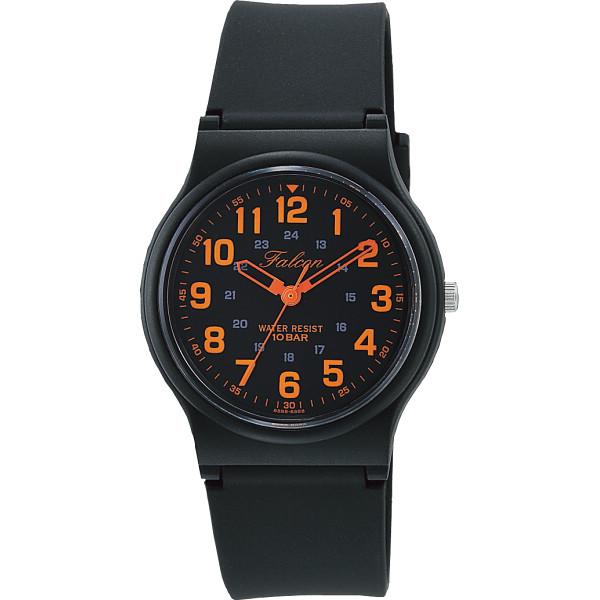 FALCON ファルコン メンズ腕時計 オレンジ 装身具 紳士装身品 紳士腕時計 VP46-858(代引不可)