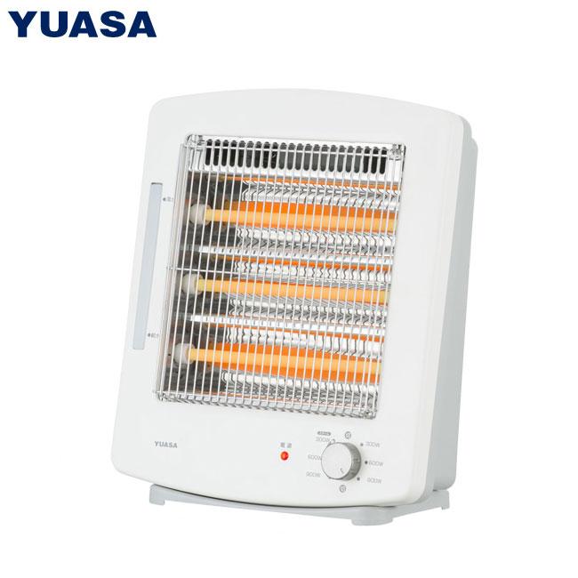 ユアサプライムス 3灯管スチーム電気ストーブ YTK-D901YHF(W)【送料無料】