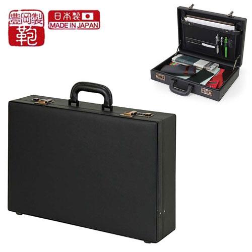 日本製 ビジネス メンズ ビジネスバッグ ハード アタッシュケース 豊岡製 紳士 営業 通勤 バッグ A3収納可能 アタッシュケース