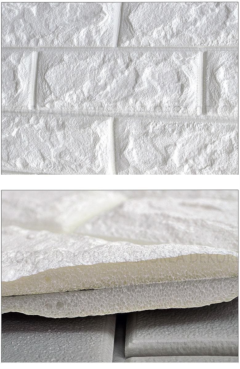 楽天市場 100cmx250cm 壁紙クッション シート レンガ調 クッション