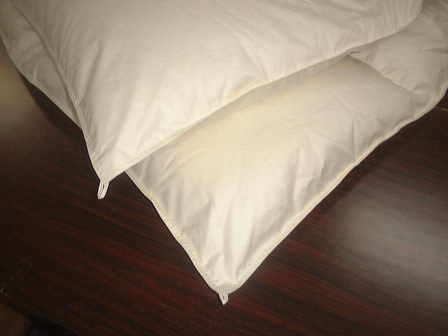 ●国産無地超長綿100%ベッド用羽毛合掛けふとんハンガリーホワイトグースダウン97%クィーンサイズ★