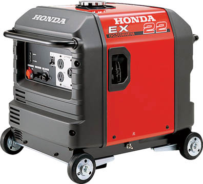【ふるさと割】 HONDA 防音型発電機 2.2kVA(交流専用)車輪付 【1台】【EX22K1JNA3 HONDA】(発電機/ガソリン発電機), 黒川村:30e7d122 --- anekdot.xyz