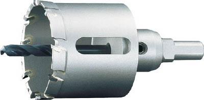 ユニカ 超硬ホールソーメタコアトリプル(ツバ無し) 80mm 【1本】【MCTR80TN】(穴あけ工具/ホールソー)